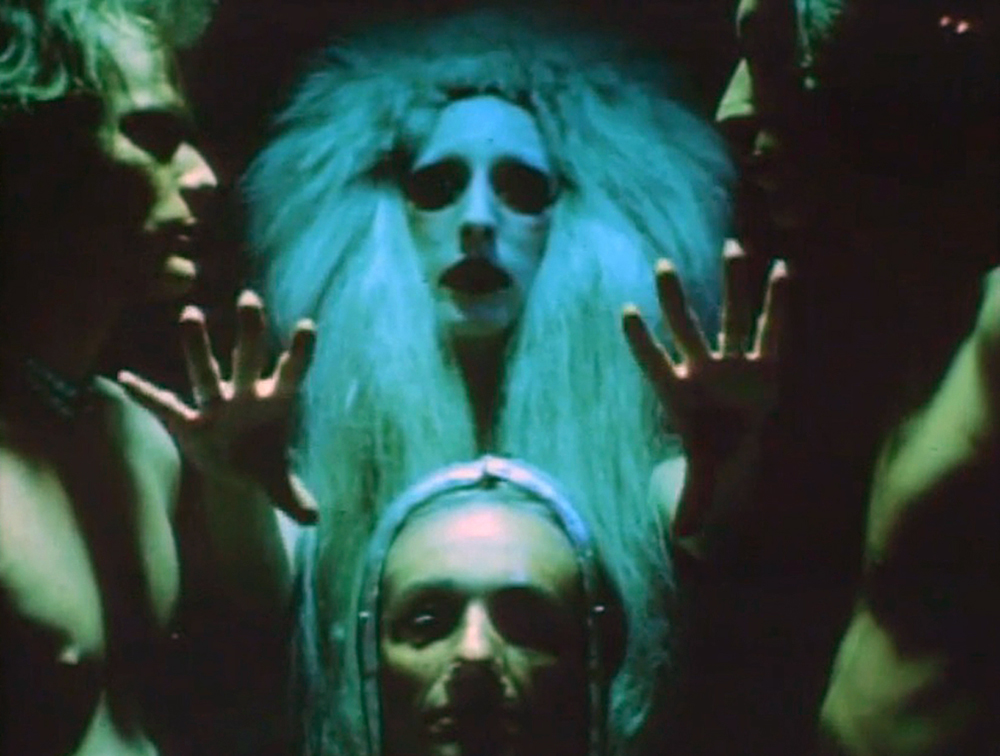 Ritual and transcendence. A still from Luminous Procuress (1971) A FILM BY STEVEN ARNOLD. Colour, Sound, 74mins, 16mm.