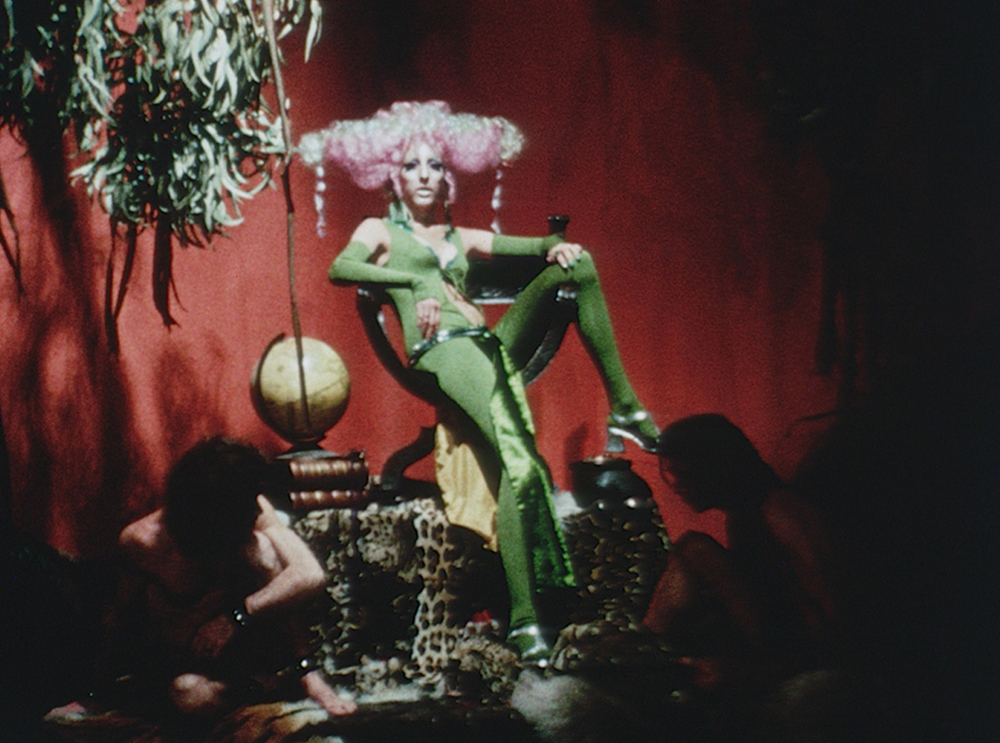 A still from Luminous Procuress (1971) A FILM BY STEVEN ARNOLD. Colour, Sound, 74mins, 16mm.