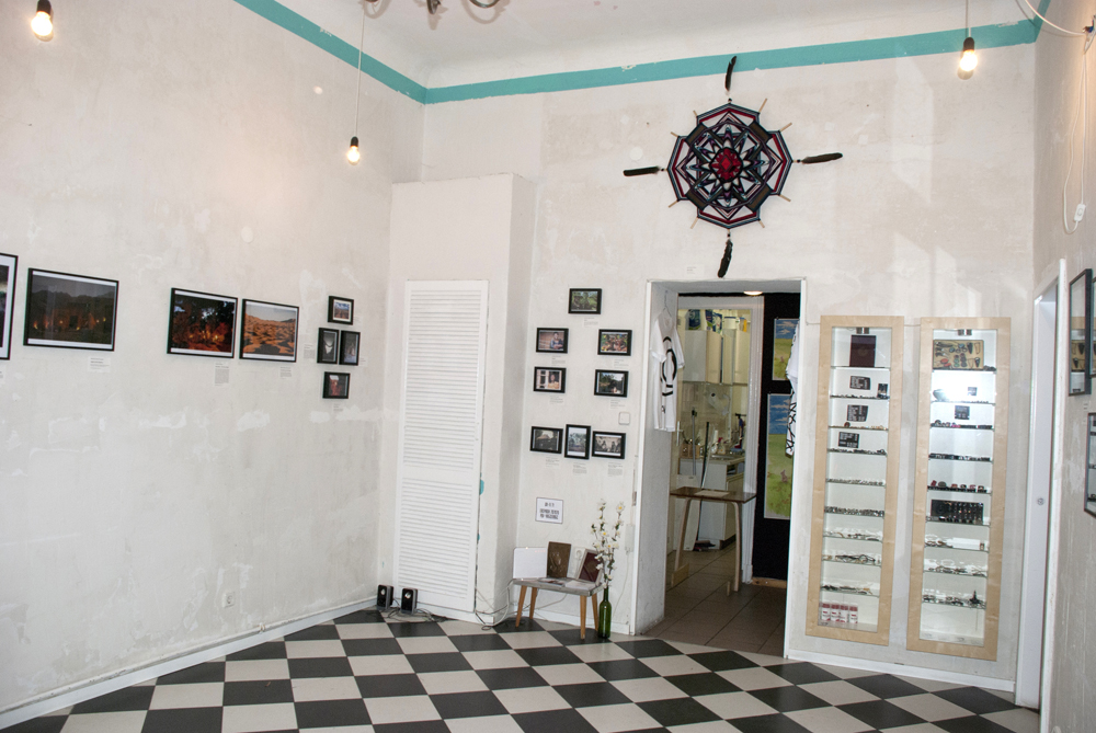 A view on the exhibition.