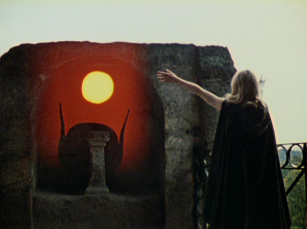 A still from Lucifer Rising (1966-1980), a film by Kenneth Anger. Colour, 16mm, 28mins.