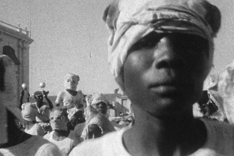 Divine Horsemen: The living Gods of Haiti (filmed between 1947 -1954) A film by Maya Deren and Teji Ito, USA, 1985, 16mm, black and white, 54 min