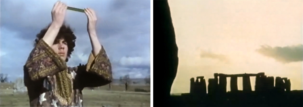 The making of KENNETH ANGER's epic film 'Lucifer Rising' (1967-1980) in Kenneth Anger - Magier des Untergrundfilms [Magician of Underground Film] (1970) A film by Reinhold E. Thiel. Colour, sound, Deu/Sub Eng, 54 mins.