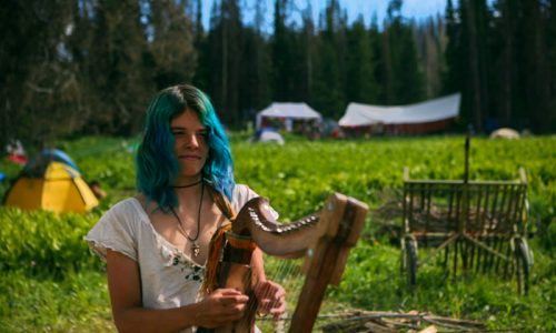 US RAINBOW GATHERING In The Uinta National Forest