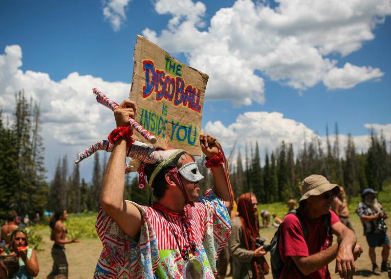Festive signage at the Rainbow. Photo Tyler Coleman.