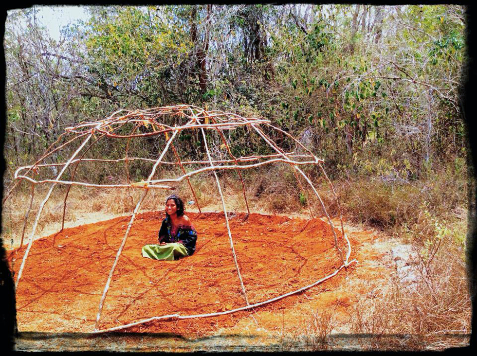 Check out our brand new Temazcal sweat lodge - the Mesoamerican holy bath! We actually now have two sweat lodges. The second one is a replica of one used specially for shamanic medicine ceremonies.