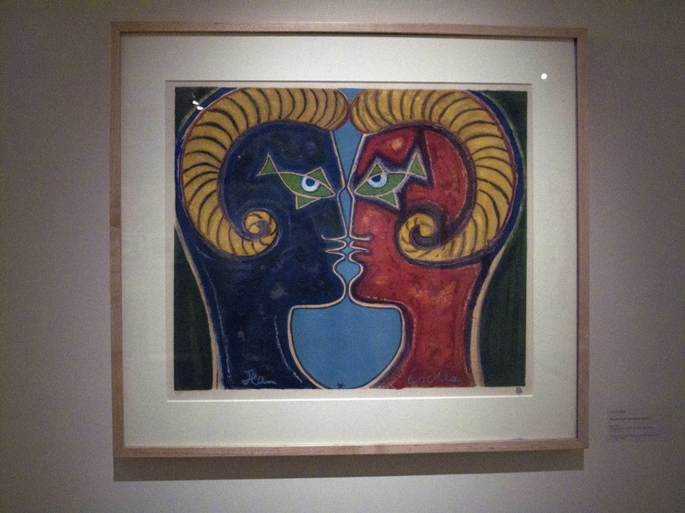 Faun-men by Jean Cocteau.