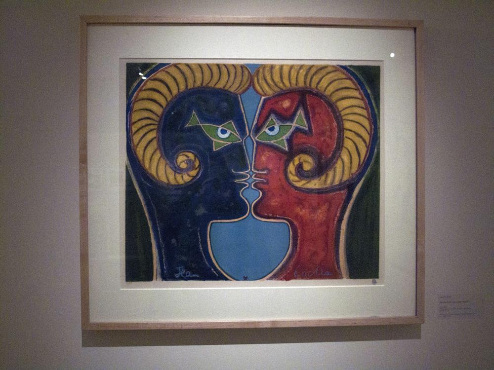 Faun-men by Jean Cocteau.