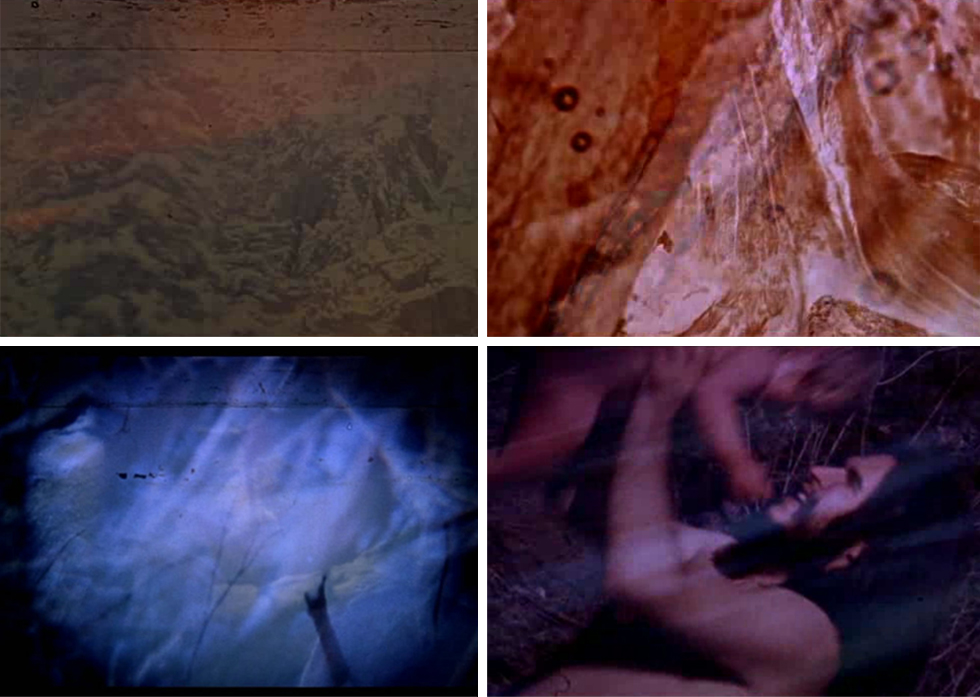 Stills from Dog Star Man (1961-64) Directed by Stan Brakhage. Colour • Silent • 16mm • 74 mins.