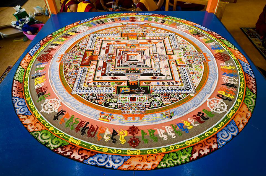 The Third Eye Dalai Lama India_Kalachakra Sand Mandala_02