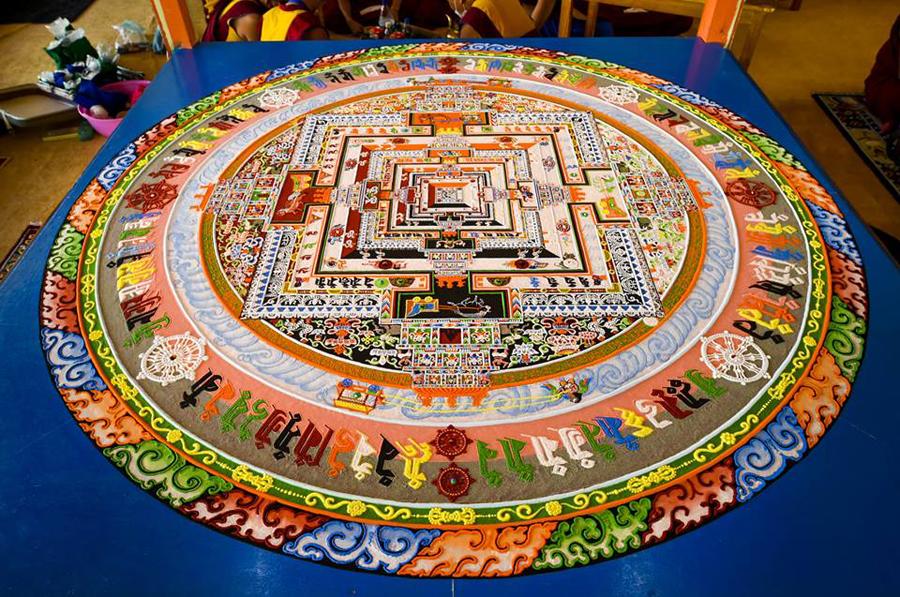 The Third Eye Dalai Lama India_Kalachakra Sand Mandala_02