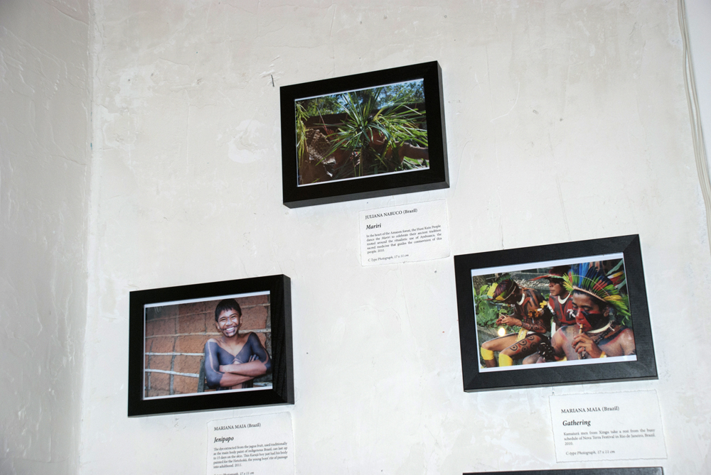 From the top: Mariri by Juliana Nabuco, (Right) Jenipapao by Mariana Maia, and Gathering by Mariana Maia.