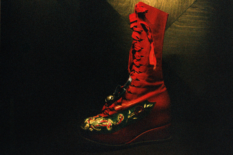 Chinese Style boots worn by Frida Kahlo.