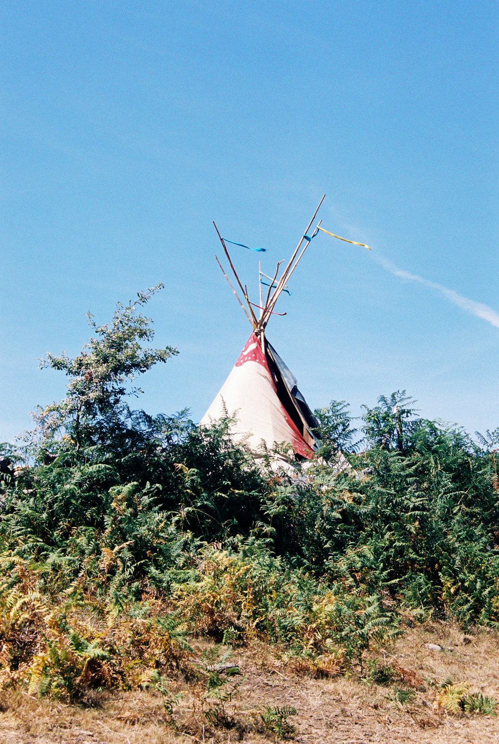Tipi at the Rainbow.