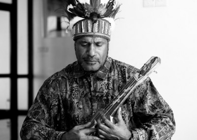Benny Wenda, tribal chief of the Dani People and founder of the Free West Papua campaign in Port Vila, Vanuatu. Photo Courtesy Humans of Vanuatu.
