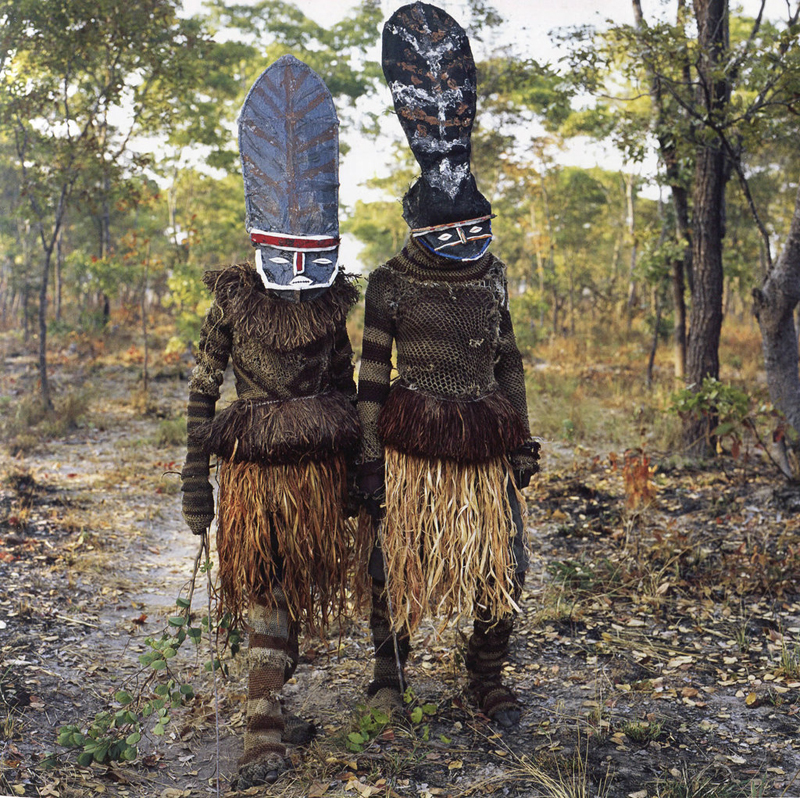 Kambulo and Kapada (They Start the Dance), Makishi Masquerade, Kaoma, Zambia, 2007.