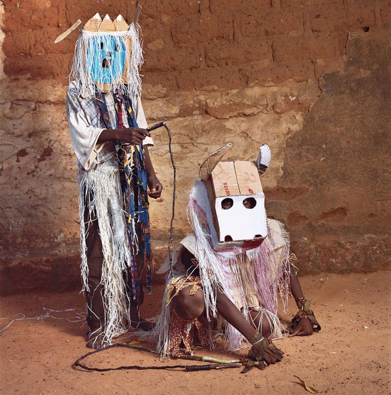 Ghost and Bull, Dodo Masquerade, Bobo-Dioulasso, Burkina Faso, 2009.