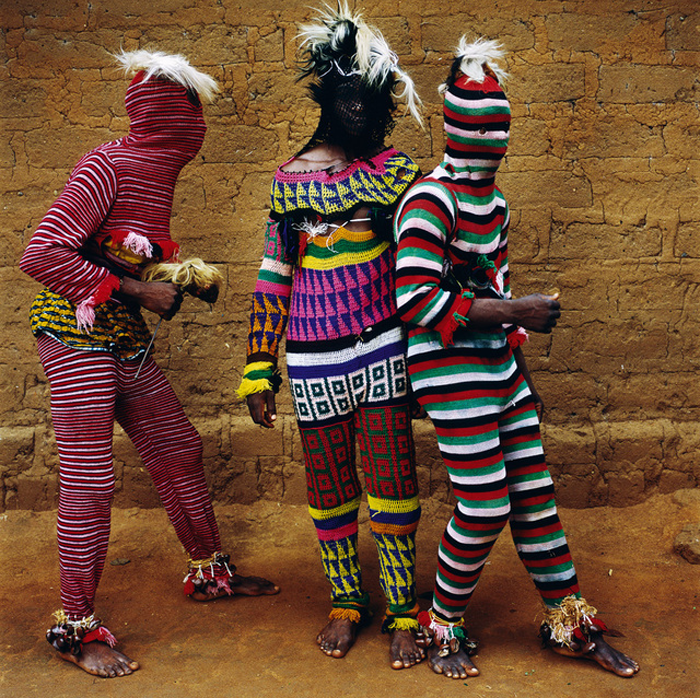 Ngar Ball Traditional Masquerade Dance, Cross River, Nigeria, 2004.
