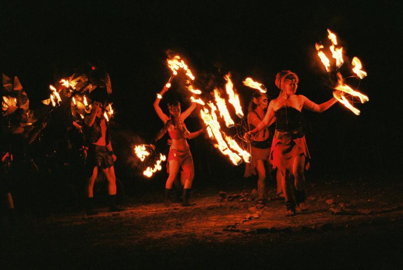 Spirit of the Fire one night around the beach...