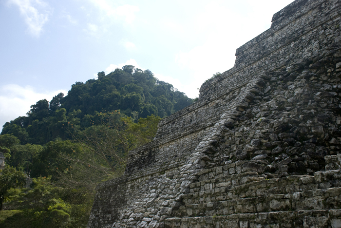 Temple of the Inscriptions, Palenque. Photo by Sophie Pinchetti.