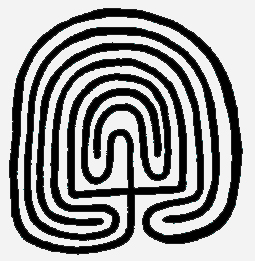 The Third Eye magazine-hopi maze