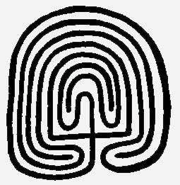 The Third Eye magazine-hopi maze