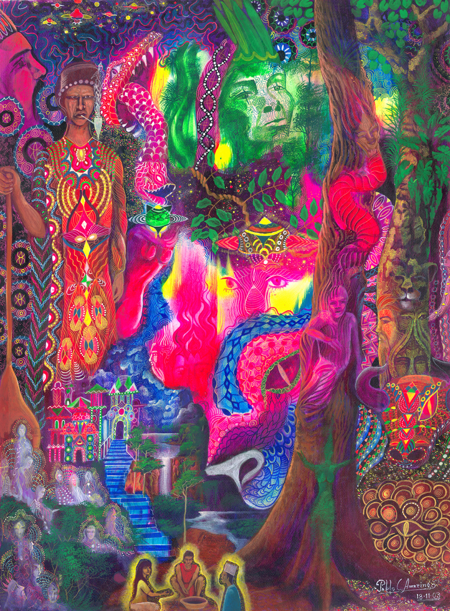 The Third Eye Magazine_Pablo Amaringo_Peru-Ayahuasca Visions-13