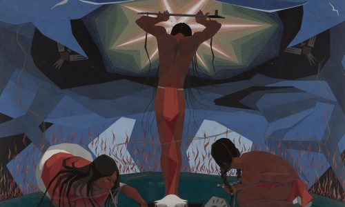 THE PLAINS INDIANS: Artists Of The Earth And Sky