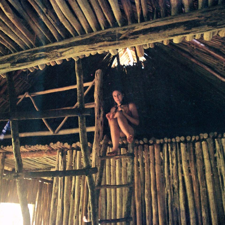 Lemurian in the Volunteering Palapa.