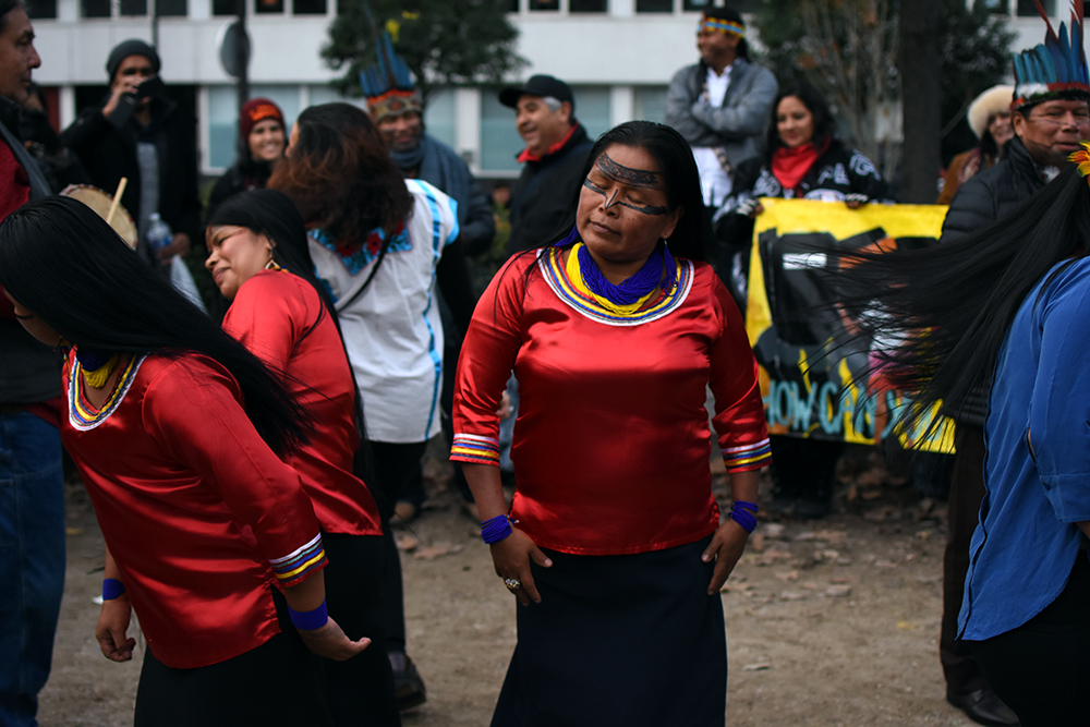 Ena Santi from Sarayaku, Kichwa Tribe in Ecuador.