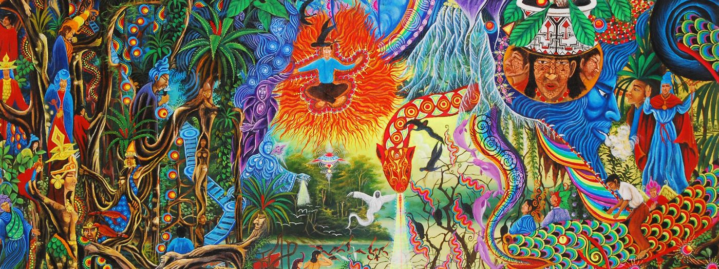 A PERUVIAN SHAMAN'S VISIONS OF THE COSMOS, Pablo Amaringo's Art